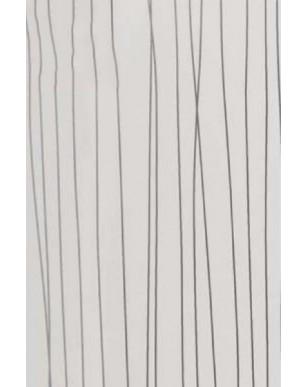 1 x White String 250mm x 2700mm x 5mm PVC Wet Wall Panel