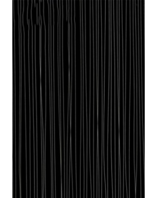 1 x Black String 250mm x 2700mm x 5mm PVC Wet Wall Panel