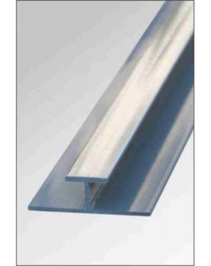 1 Silver H Shape Trims PVC Panels Trims 10mm/5mm OR Shower Wall Panels Trim Select your option