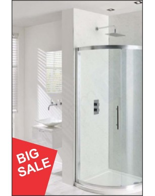 WHITE GLOSS WET WALL 1MTR LARGE/ NO MORE TILES