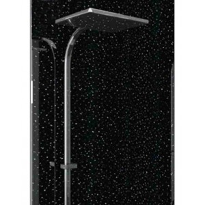 BLACK RAINBOW WET WALL 1MTR LARGE/ NO MORE TILES/ 25% OFF
